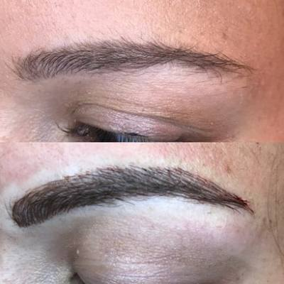 3D eyebrow embroidery in mt pleasant, sc