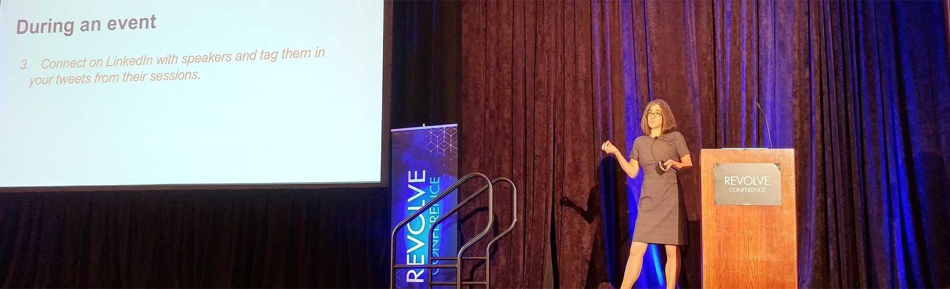 Ilise Benun at Revolve Conference 2017