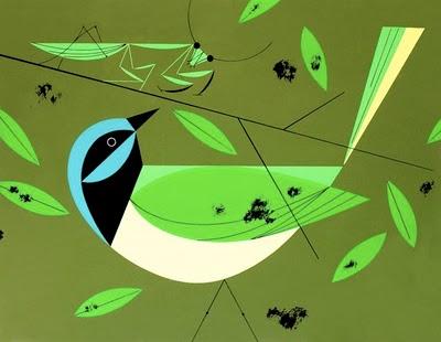 Blue Jay | Charley Harper Prints | For Sale