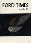 Ford Times | November 1955 | Charley Harper Prints | For Sale