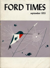 Ford Times | September 1955 | Charley Harper Prints | For Sale