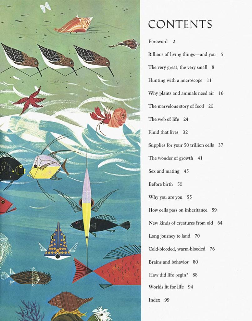 Golden Book of Biology | Charley Harper Prints | For Sale