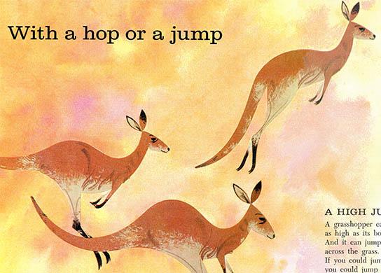 Kangaroo | Charley Harper Prints | For Sale