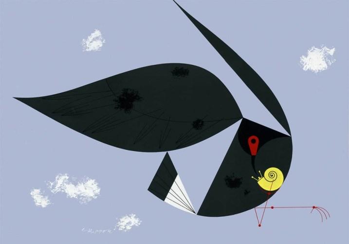 Everglades Snail Kite | Charley Harper Prints | For Sale