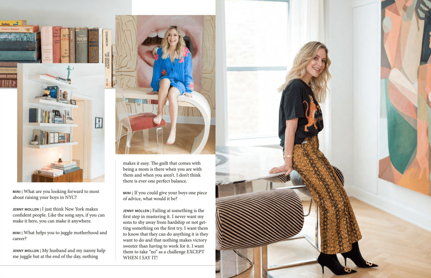 Jenny Mollen for Mini Magazine, Charlie Juliet Photography