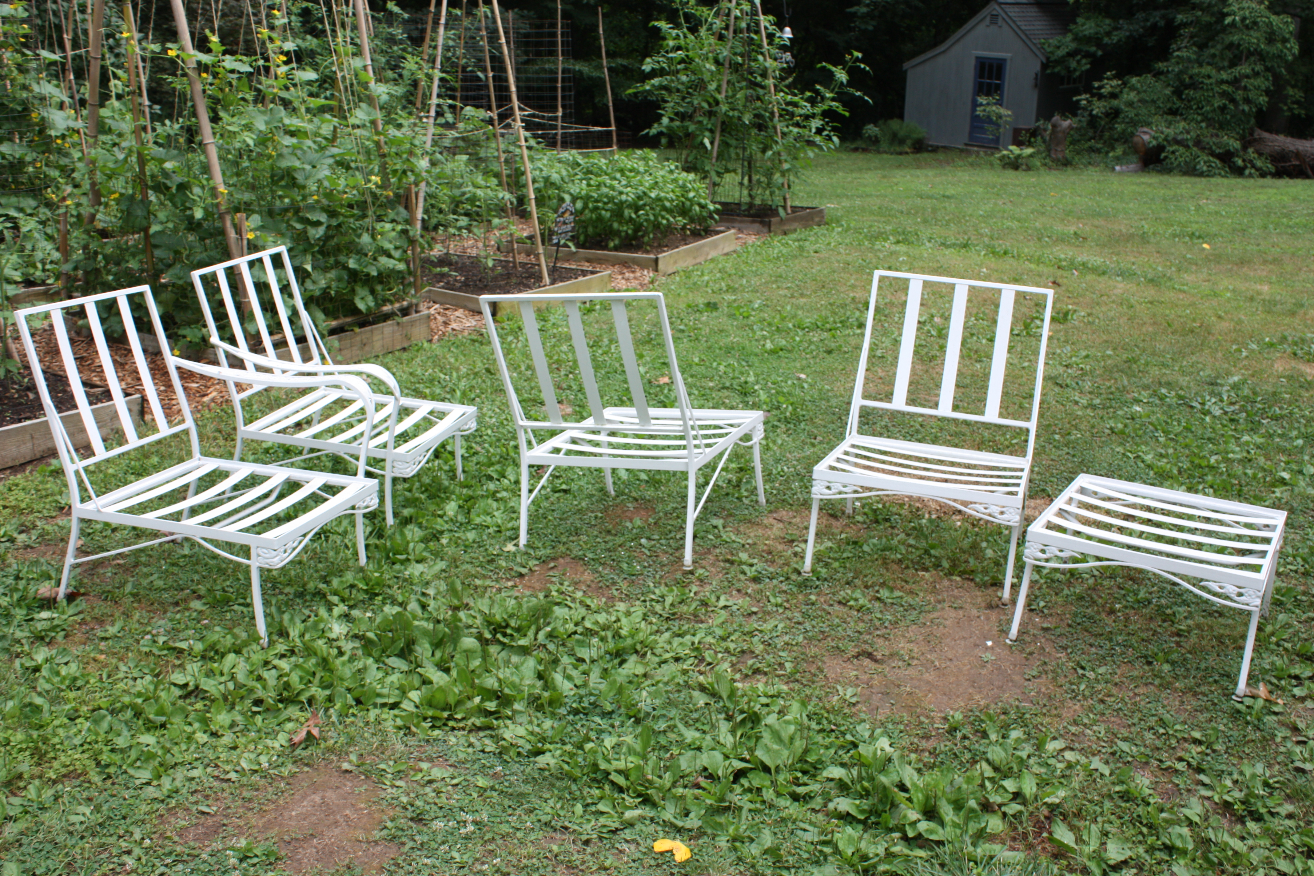 Vintage Patio Furniture  Lets Face the Music