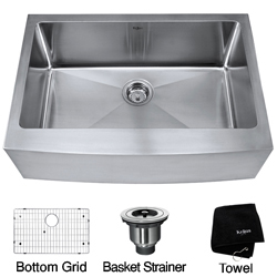 installing the undermount kitchen sinks