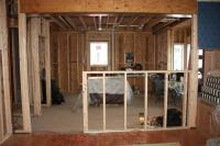 Kitchen Island Knee Wall 13 Pass Through Window Intended ...