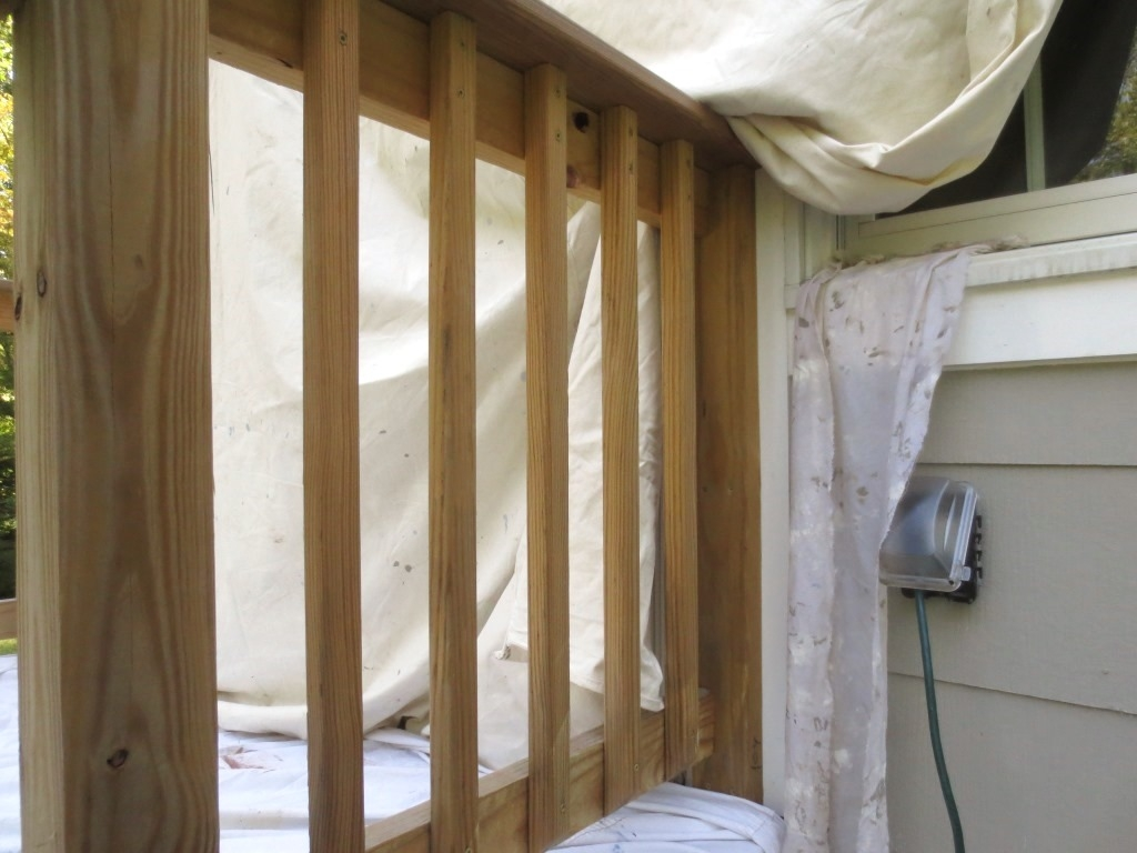 Painting Our Pressure Treated Railing – Let S Face The Music | Pressure Treated Stair Railing