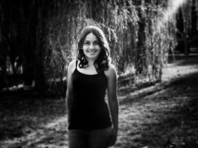 lorena_Humboldt_park_pencillight_bw