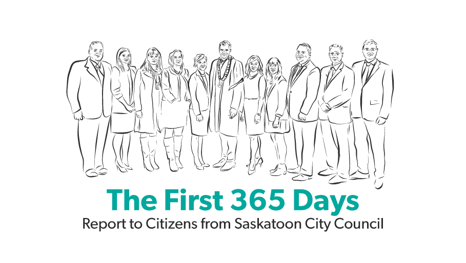 The First 365 Days: report to citizens