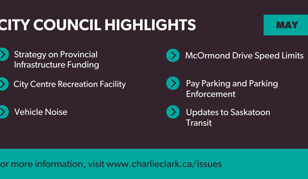 Council Highlights, May 2020