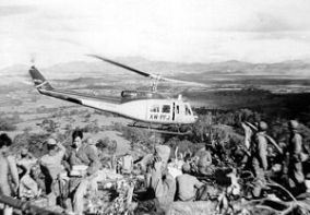 Air-America--Bell-205-helicopter-at-Hmong-FSB