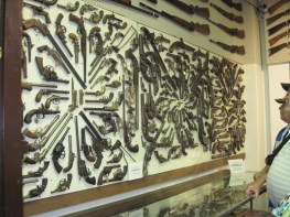 Just a small part of the gun collection at the JM Davis Gun Museum