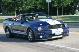 At the Shelby car parade