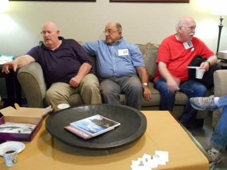 Bud, Charlie, Mike Mac