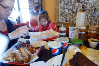 Ribs on the bottom right -- making me hungry right now.