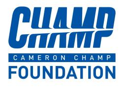 logo for Cameron Champ Foundation