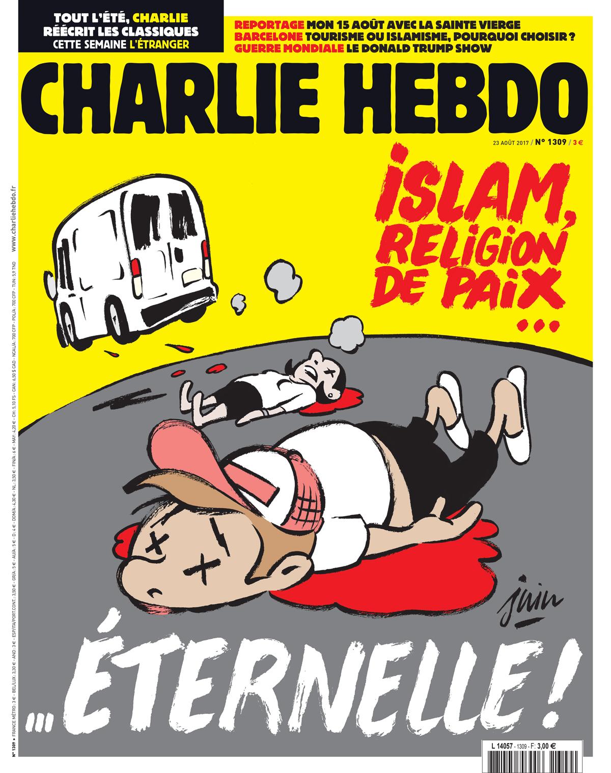Achat En Ligne Charlie Hebdo : achat, ligne, charlie, hebdo, Edition, Hebdomadaire, Charlie, Hebdo