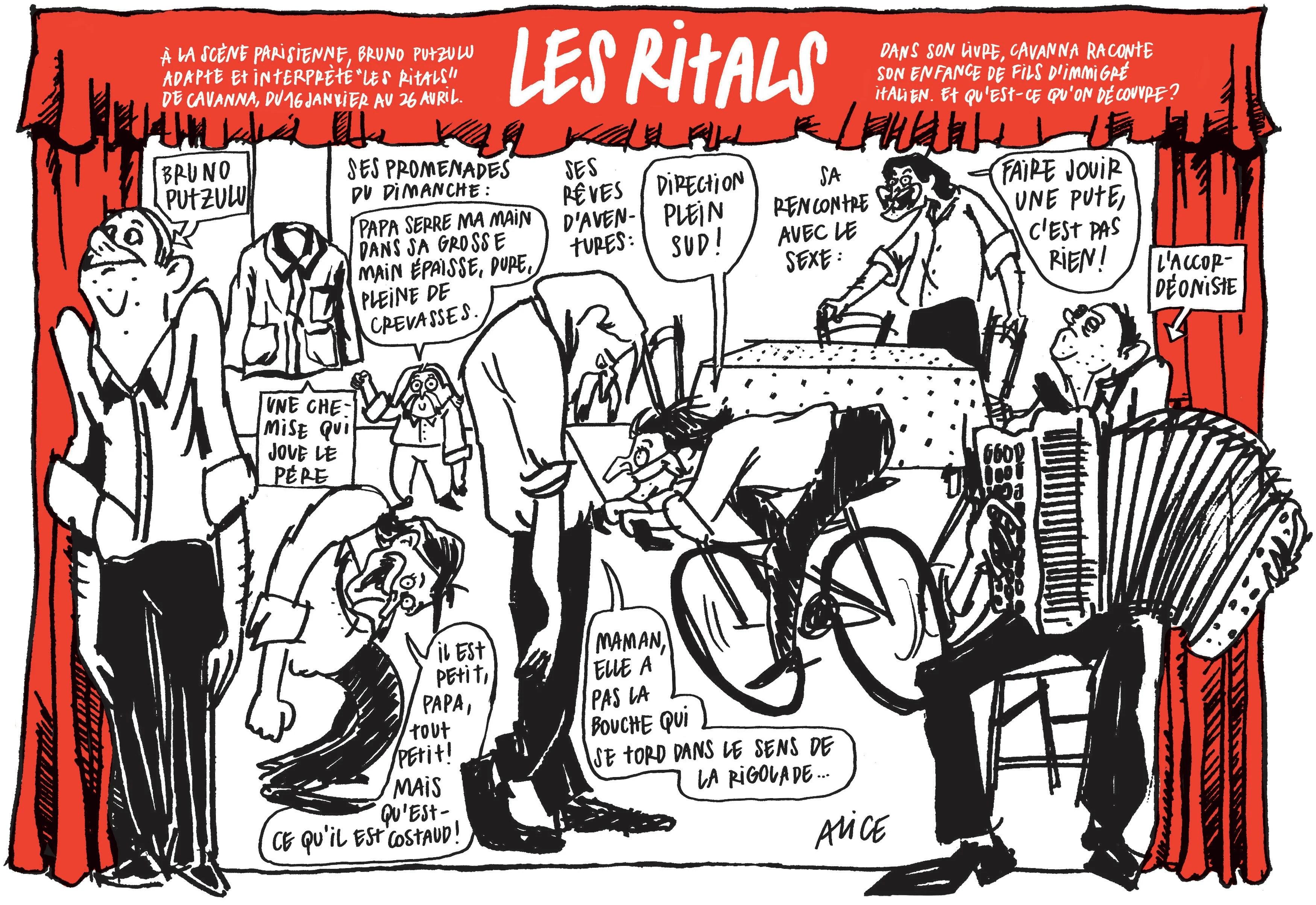 Que Faire Ce Week End Allez Voir Les Ritals Charlie Hebdo