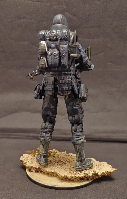 Amazing Call Of Duty Ghosts CUSTOM Action Figures