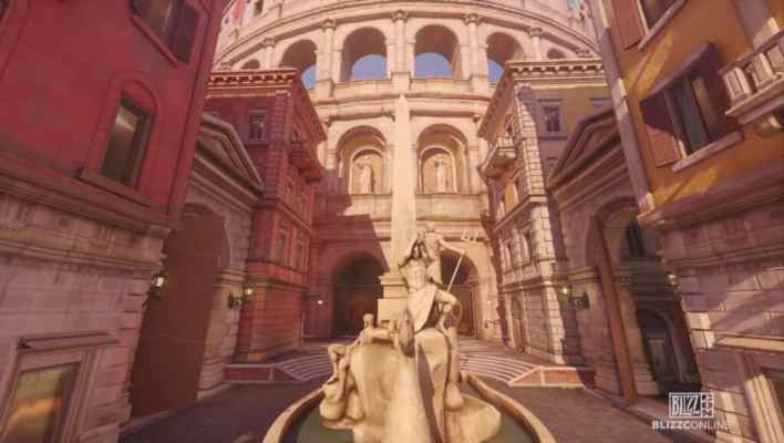 Rome in Overwatch 2
