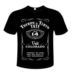 Groomsman T-shirt Design