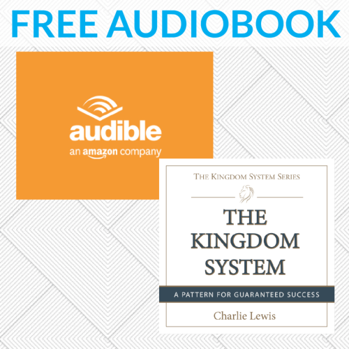 Audible.com link to download free auiobook of The Kingdom System