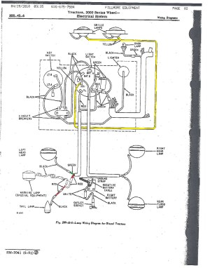 John Deere 2040 Ignition Switch Wiring Diagram  Auto Electrical Wiring Diagram