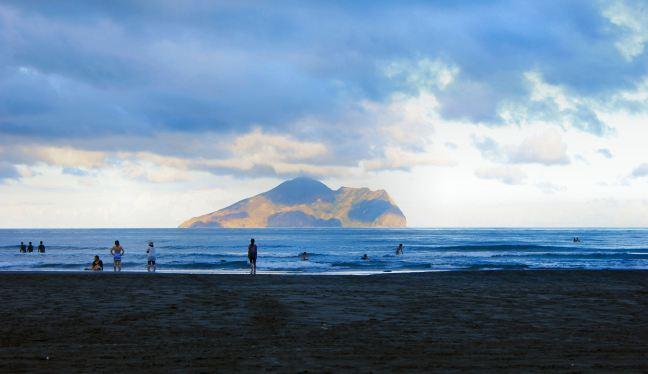 The Black Sand Beaches of Waiao, Taiwan