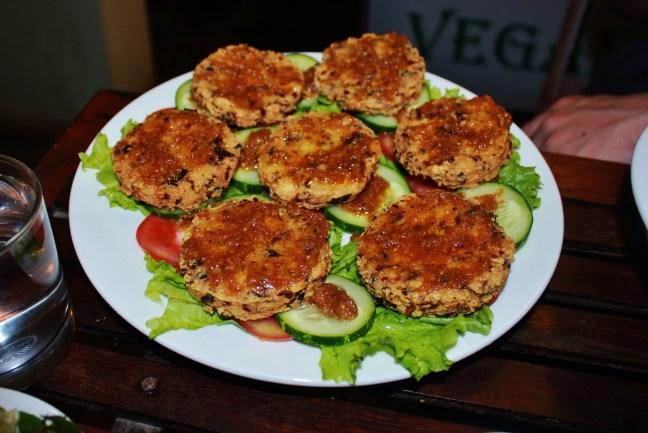tofu burger Vegan Cooking Class