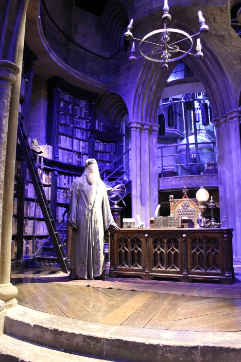 Dumbledore's Office hp studio tour