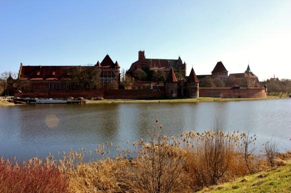Malbork Castle backpacking poland