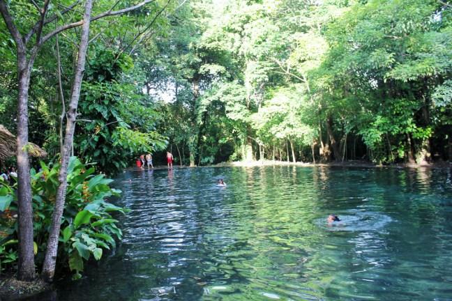 Ojo de Agua Ometepe Island Nicaragua - Charlie on Travel
