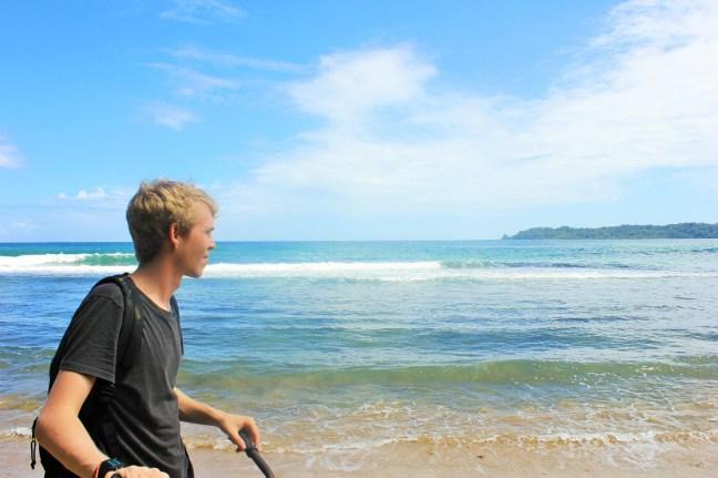 Bocas del Toro cycling Luke - cost to travel bocas del toro - Charlie on Travel