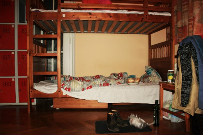 Hostel dorm room in Poland - Charlie on Travel