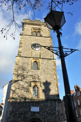 Clock Tower in town