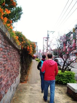 Danny and Stephanie teaching in Taiwan