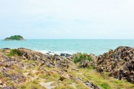 Rocky outcrop on koh samet