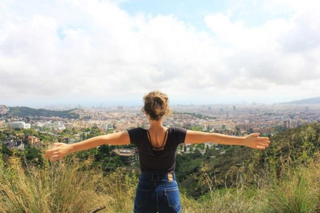 Barcelona hiking - Charlie on Travel
