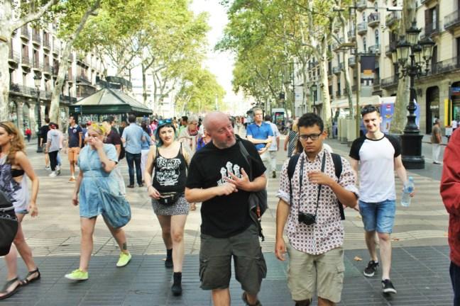 Spanish Civil War Tour Barcelona Slow Travel Guide - Charlie on Travel