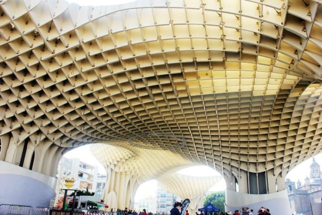 Slow Travel in Seville - Metropol Parasol - Charlie on Travel 1200