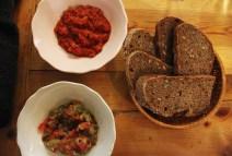Vegan in Bulgaria Lutenica and kyopoolu