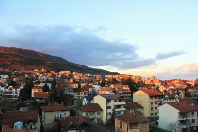 Skopje Macedonia sun rise - Charlie on Travel
