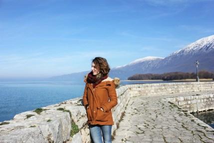 Charlie at St Naum Monastery Lake Ohrid Macedonia - Charlie on Travel small