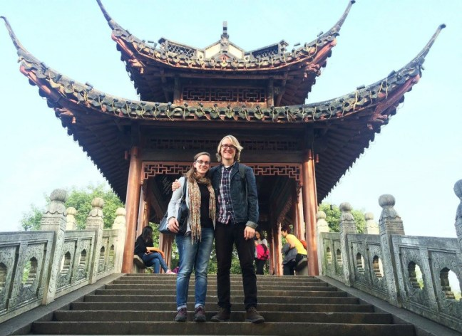 Mitch Labiak teaching in China interview - Charlie on Travel 3