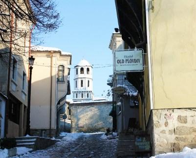 Hostel Old Plovdiv Street view - Plovdiv Bulgaria - Charlie on Travel