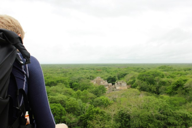 Luke at Ek Balam Mexico - Charlie on Travel