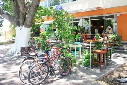 Cafe on Paseo de Montejo
