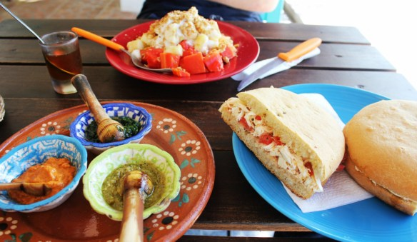 Breakfast at Soul Kitchen - Isla Holbox Mexico - Charlie on Travel